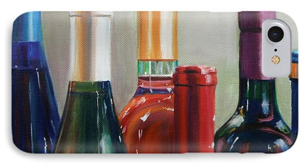 All Lined Up Phone Case by Donna Tuten