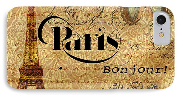 All Paris All The Time IPhone Case by Greg Sharpe