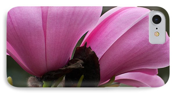 IPhone Case featuring the photograph Pink Magnolia by Sabine Edrissi