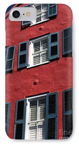All Red Phone Case by John Rizzuto