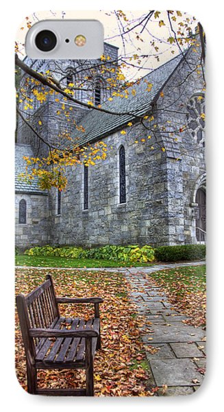 All Saints Church - Peterborough Nh IPhone Case by Joann Vitali