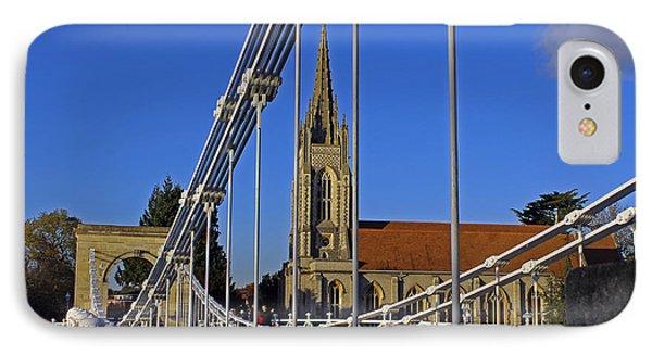 All Saints Church IPhone Case by Tony Murtagh