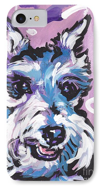 All Smiles Schnau IPhone Case by Lea S