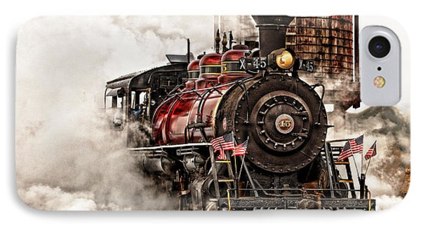 All Steamed Up IPhone Case by Mary Jo Allen