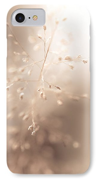 All Tenderness. Grass Art Phone Case by Jenny Rainbow