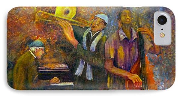 All That Jazz IPhone Case by Loretta Luglio