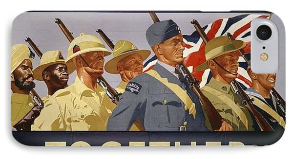 All The Commonwealth Countries Unite. Phone Case by Paul Fearn