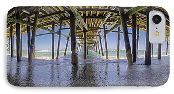 All The Way Under The Pier IPhone Case by Scott Campbell
