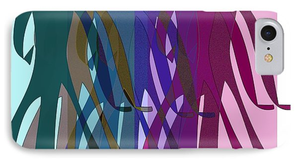 IPhone Case featuring the digital art All The World's A Stage.... by Iris Gelbart