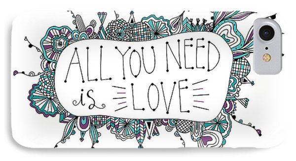 All You Need Is Love IPhone Case by Susan Claire