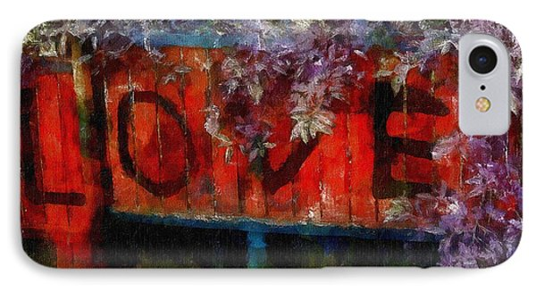 All You Need Is... Phone Case by RC deWinter