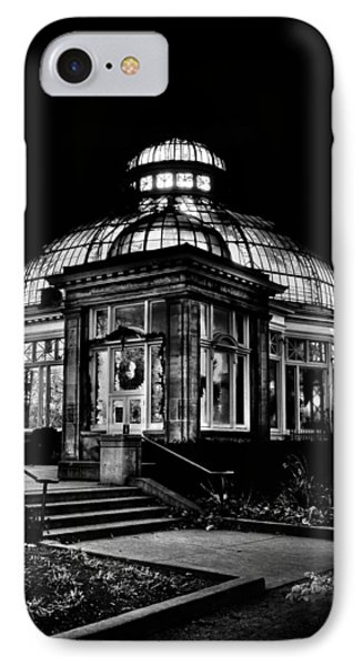 Allan Gardens Conservatory Palm House Toronto Canada IPhone Case by Brian Carson