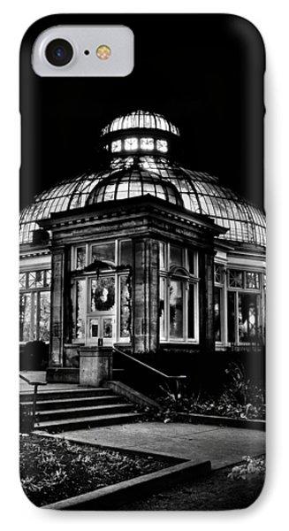 Allan Gardens Conservatory Palm House Toronto Canada Phone Case by Brian Carson