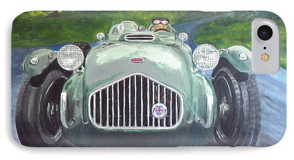 IPhone Case featuring the painting Allard J2x by Anna Ruzsan