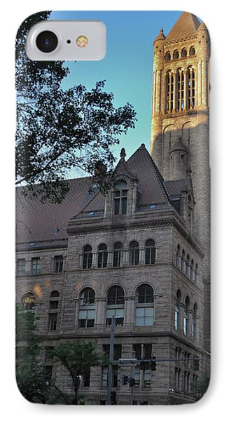 IPhone Case featuring the photograph Allegheny County Courthouse by Steven Richman