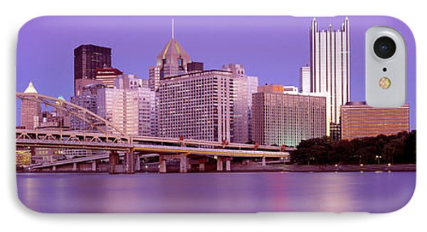 Allegheny River Pittsburgh Pa IPhone Case by Panoramic Images