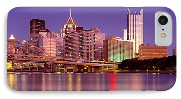 Allegheny River, Pittsburgh IPhone Case by Panoramic Images