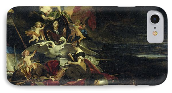 Allegorical Representation Of The Expedition To Chatham IPhone Case by Litz Collection