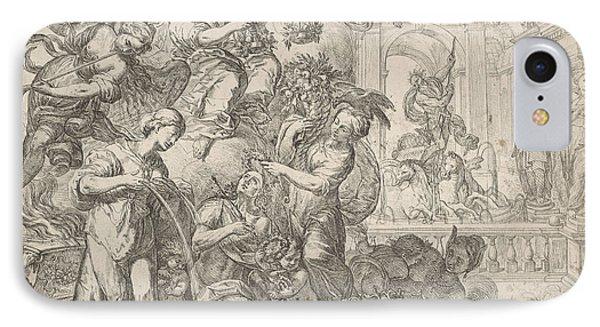 Allegory Of Peace, Remoldus Eynhoudts, Peter Paul Rubens IPhone Case