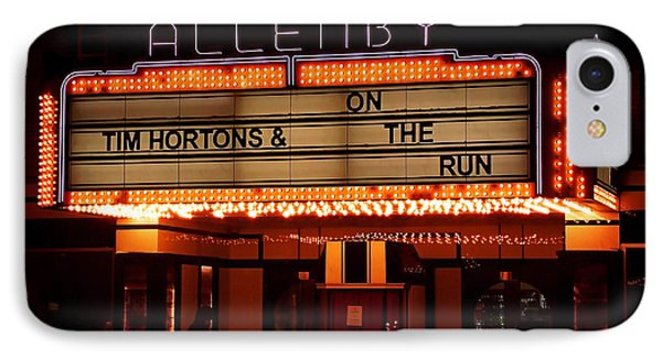 Allenby Theatre 1215 Danforth IPhone Case by Nicky Jameson