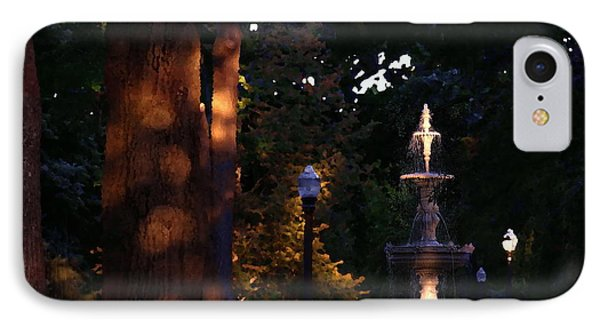 Allentown Pa Dusk At West Park IPhone Case by Jacqueline M Lewis