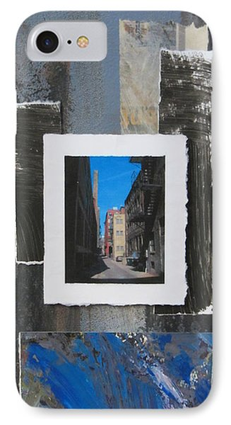 Alley 3rd Ward And Abstract IPhone Case by Anita Burgermeister