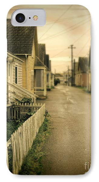 Alley And Abandoned Houses Phone Case by Jill Battaglia