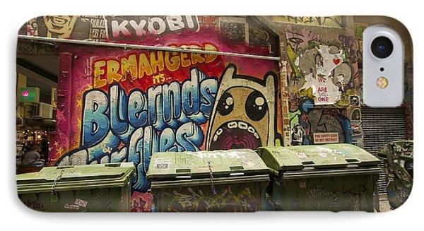 Alley Graffiti Phone Case by Stuart Litoff