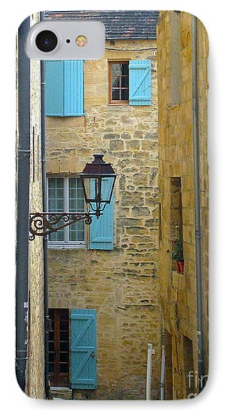 IPhone Case featuring the photograph Alleys Of Sarlat II by Suzanne Oesterling