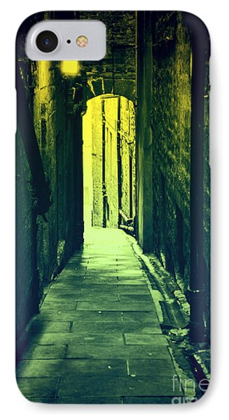 IPhone Case featuring the photograph Alleyway by Craig B