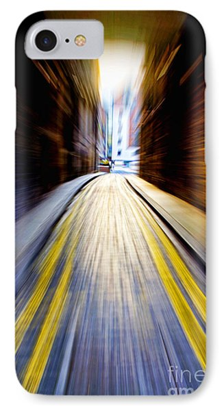 Alleyway With Motion IPhone Case