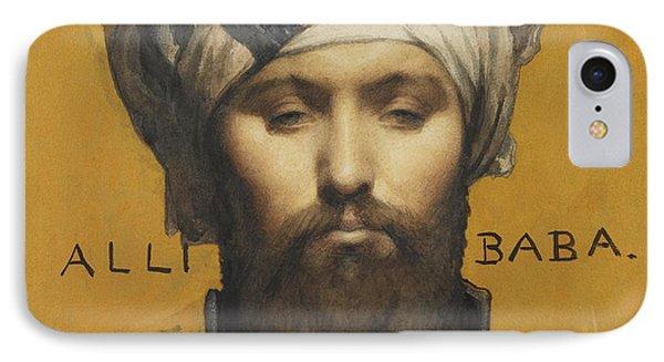Alli Baba IPhone Case by Louis Weldon Hawkins