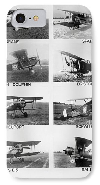 Allies World War I Aircraft IPhone Case by Underwood Archives