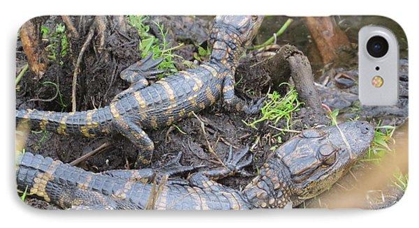 Alligator Babies IPhone Case