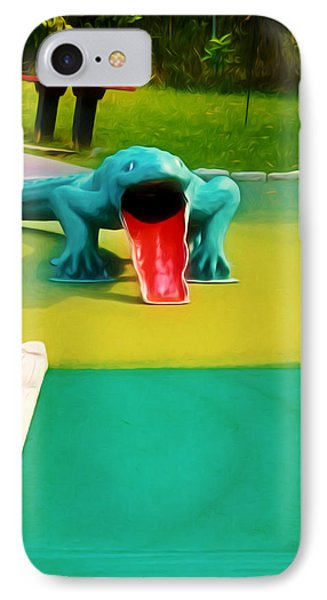 Alligator Phone Case by Lanjee Chee