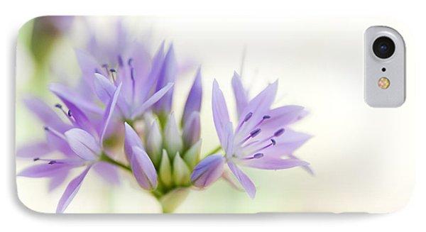 Allium Unifolium Eros IPhone Case by Tim Gainey