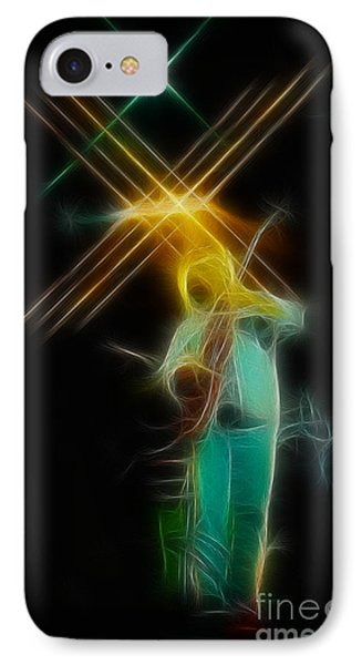 Allman-dickie-95-ga14a-fractal Phone Case by Gary Gingrich Galleries