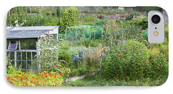 Allotments IPhone Case by Ashley Cooper