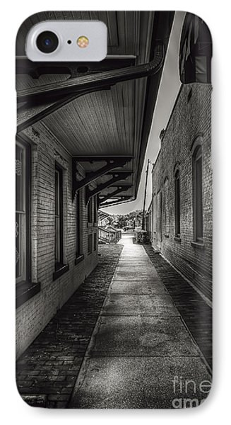 Alley To The Trains Phone Case by Marvin Spates