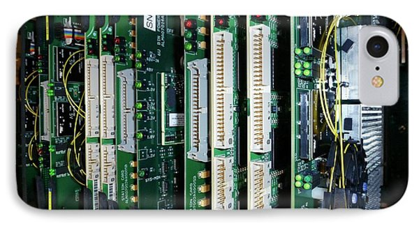 Alma Correlator Supercomputer IPhone Case