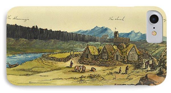 Almanna Gorge Circa 1862 Phone Case by Aged Pixel