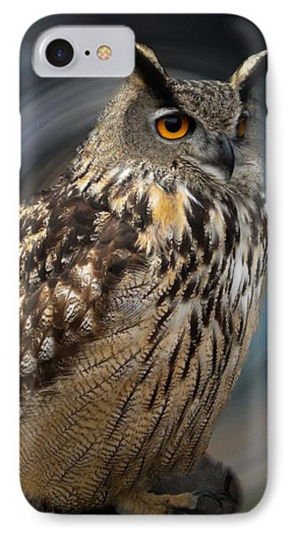 Almeria Wise Owl Living In Spain  IPhone Case