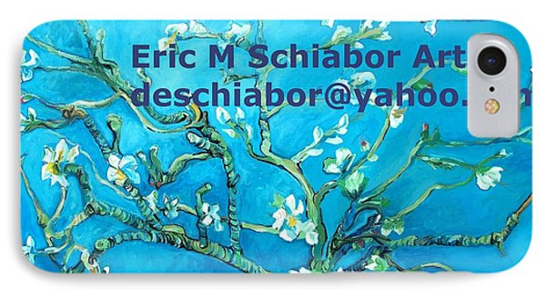 Almond Blossom Branches Phone Case by Eric  Schiabor