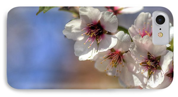 IPhone Case featuring the photograph Almond Blossoms by Jim and Emily Bush
