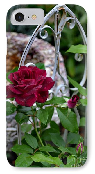 Almost A Perfect Rose IPhone Case