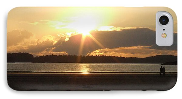 Almost Sundown IPhone Case by Mark Alan Perry