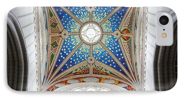 Almudena Cathedral Interior Phone Case by Jenny Hudson