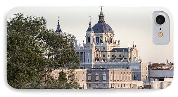 Almudena Church Madrid IPhone Case