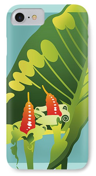 Alocasia IPhone Case