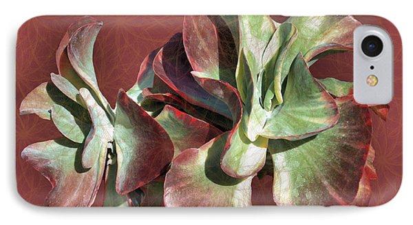 Aloe Design Phone Case by Rosalie Scanlon